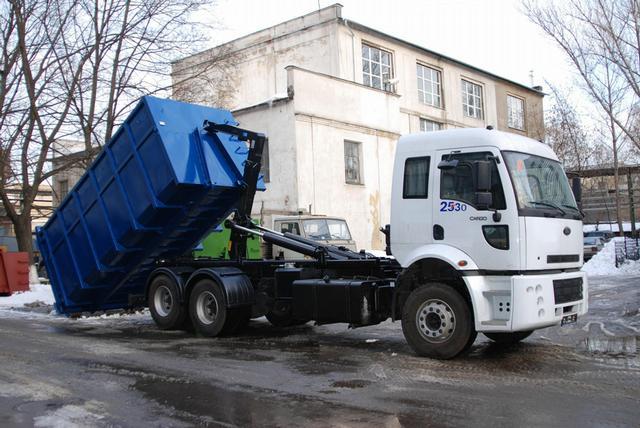 вывоз мусора контейнерами