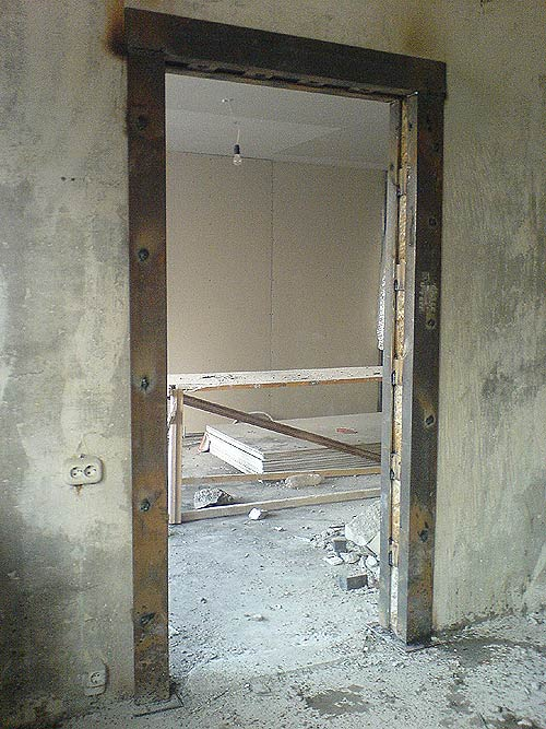 устройство проема в стене